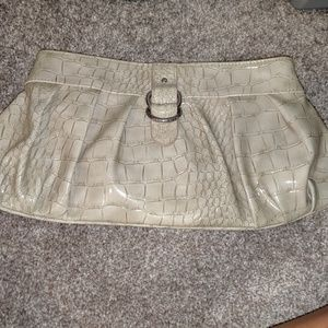 Faux Alligator pattern cluth